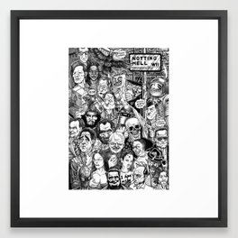 Notting Hell Framed Art Print