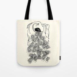 Jungle Peacock Tote Bag