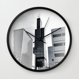 Sears Tower Chicago Wall Clock