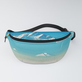 12,000pixel-500dpi - Nicholas Roerich - Mount Of Five Treasures - Digital Remastered Edition Fanny Pack