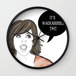 Wackadoodle Wall Clock