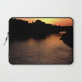 Sunset over the Ponte Vecchio Laptop Sleeve