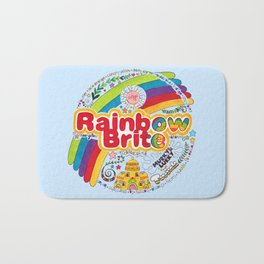 Rainbow Brite Bath Mat