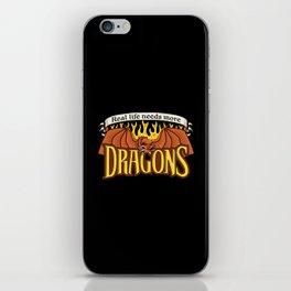 More Dragons iPhone Skin