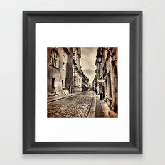 Warsaw - Old Town Framed Art Print