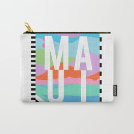 Maui Travel Poster Carry-All Pouch