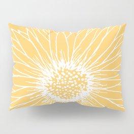 Minimalist Sunflower Pillow Sham