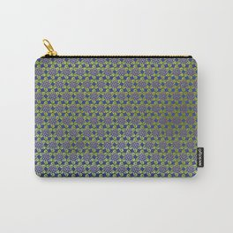 gold geo daisies Carry-All Pouch