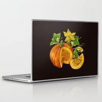 pumpkin Laptop & iPad Skins featuring Pumpkin by ElenaTerrin