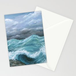 Sea View 244 Ocean Waves Stationery Cards