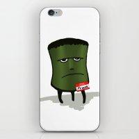frank iPhone & iPod Skins featuring Frank by Charlene Jaszewski
