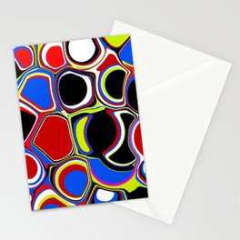 Bubbles Pouring Like Stationery Cards