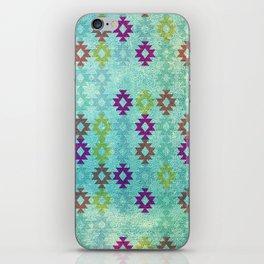 Santa Fe Dreams Geometric Aztec Colorful Design iPhone Skin