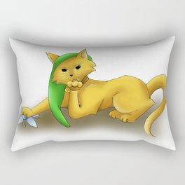 Hey Listen! Rectangular Pillow