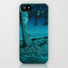 Nightime in Gissei iPhone Case