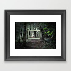 Room With A View. No. 6 Framed Art Print