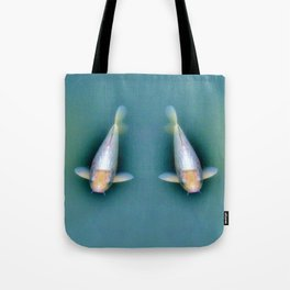Fish Couple Under Water Tote Bag