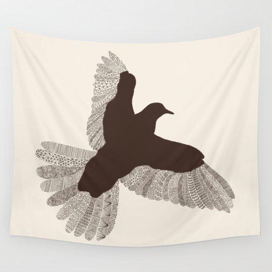Bird (On Beige) by speakerine