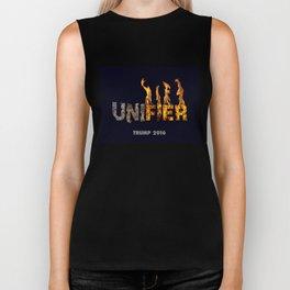 Trump The Unifier. Biker Tank