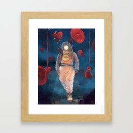 Voice Framed Art Print