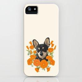 Poppy Dog iPhone Case