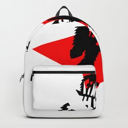 red gnar Backpack