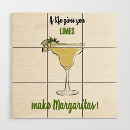 Margaritas Wood Wall Art
