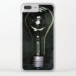 Giant Industrial Light Bulb Clear iPhone Case