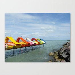 Lake Balaton Canvas Print