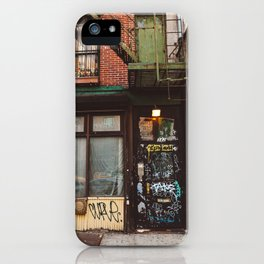 East Village iPhone Case