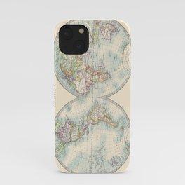 Hemispheres iPhone Case