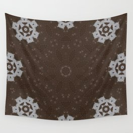 Stitches and Suede Wall Tapestry