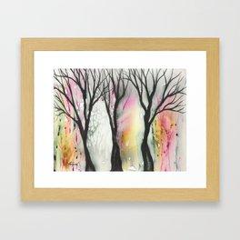 Laguna Trees Framed Art Print