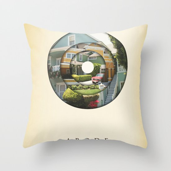 abode Throw Pillow