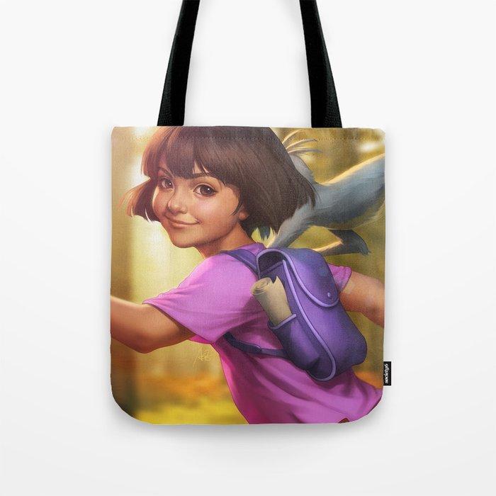 The Little Explorer Tote Bag