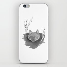 Wolf Baptism iPhone Skin