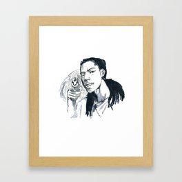 free kryo Framed Art Print
