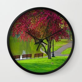The park  Wall Clock