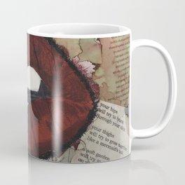Speak up// Lips /  Stop the stigma  Coffee Mug