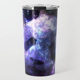 Galaxy Panda Planet Colorful Travel Mug