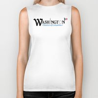 washington dc Biker Tanks featuring Washington DC by Henderson GDI