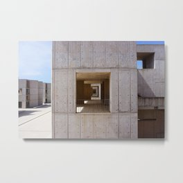 Salk Institute  Metal Print