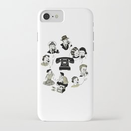 We Are Now All Connected iPhone Case