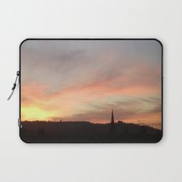 Sunset 503 on Ranmore near Dorking (North Downs) Laptop Sleeve