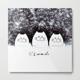 cats 87 Metal Print