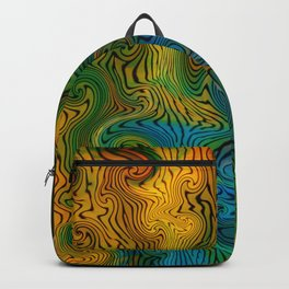 Variegraph 127 (Turbulation 2) Backpack