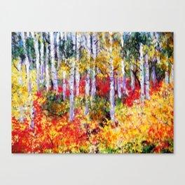Title: Glorious Autumn Colors  Canvas Print
