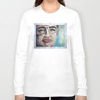 stephen king Long Sleeve T-shirts featuring Stephen Hawking by Michael Cu Fua
