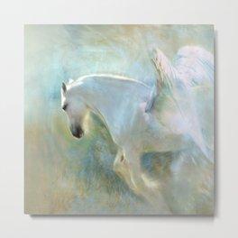 Angelic Horse Metal Print