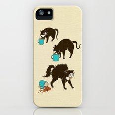 Coffee Cat iPhone (5, 5s) Slim Case